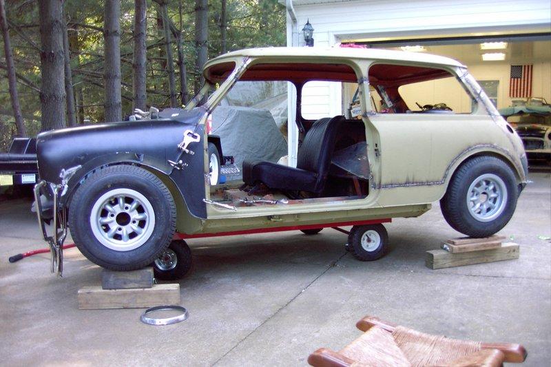 Mini Cooper Interior >> Larry's Minis - Mini Sprint